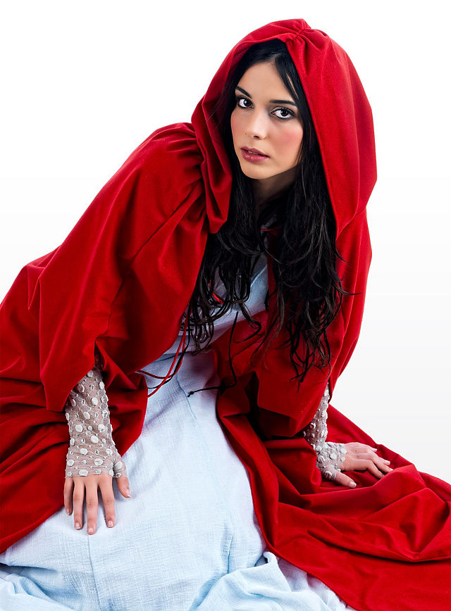 Karnevalskostum Damen Rotkappchen Faschingskostum Marchenkostum