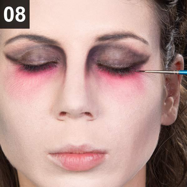 Halloween Make-up Tutorial Geisterbraut