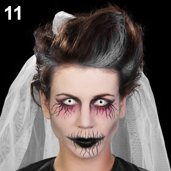 Halloween Make Up Tutorial Geisterbraut Maskworld Com