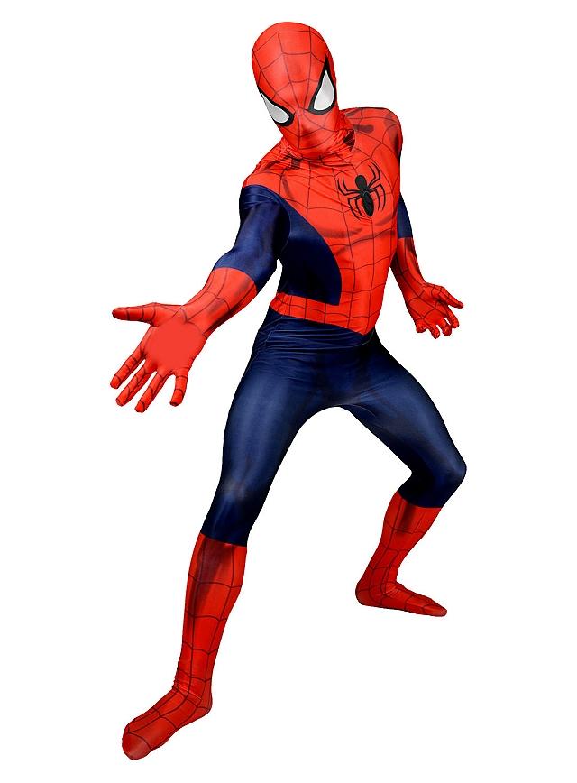 Mottowoche Superhelden mit dem Morphsuit Spider-Man Ganzkörperkostüm