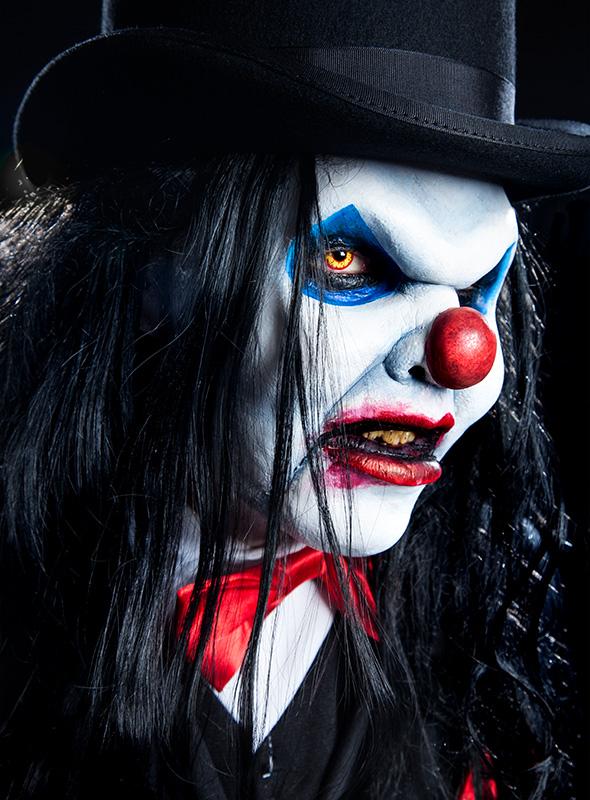 Halloween schminktipp hipster werwolf for Clown schminktipps