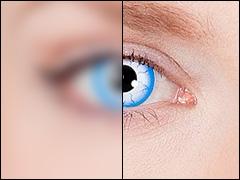 Farbige Kontaktlinsen mit Stärke für Halloween, Karneval und Mottoparty
