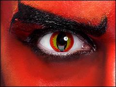 Motiv-Kontaktlinsen für Karneval, Halloween und Mottoparty