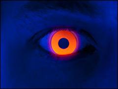 UV Kontaktlinsen für Halloween, Karneval und Mottoparty