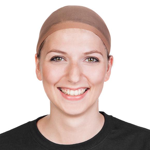 Perücken stylen: Haarnetz