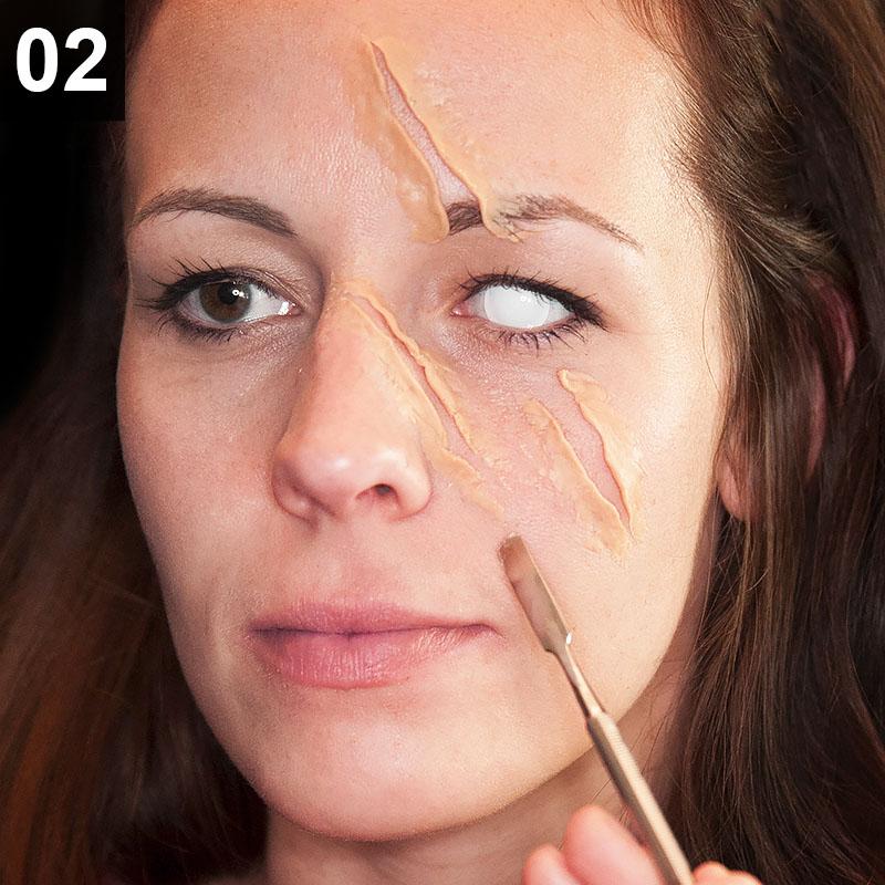 Halloween Make-up Tutorial: Horror Rotkäppchen
