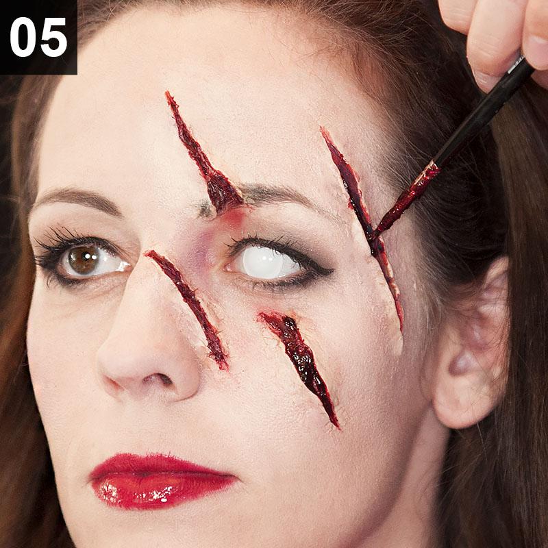 Halloween Make-up Tutorial Horror Rotkäppchen