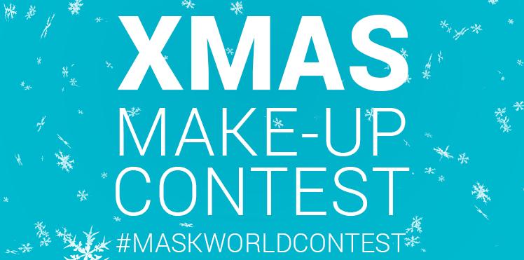 Make-up Contest zu Weihnachten auf Instagram