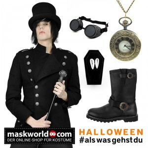 Steampunk Vampir Look