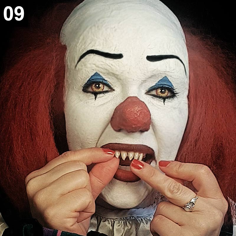 Halloween Make-up Tutorial: Pennywise