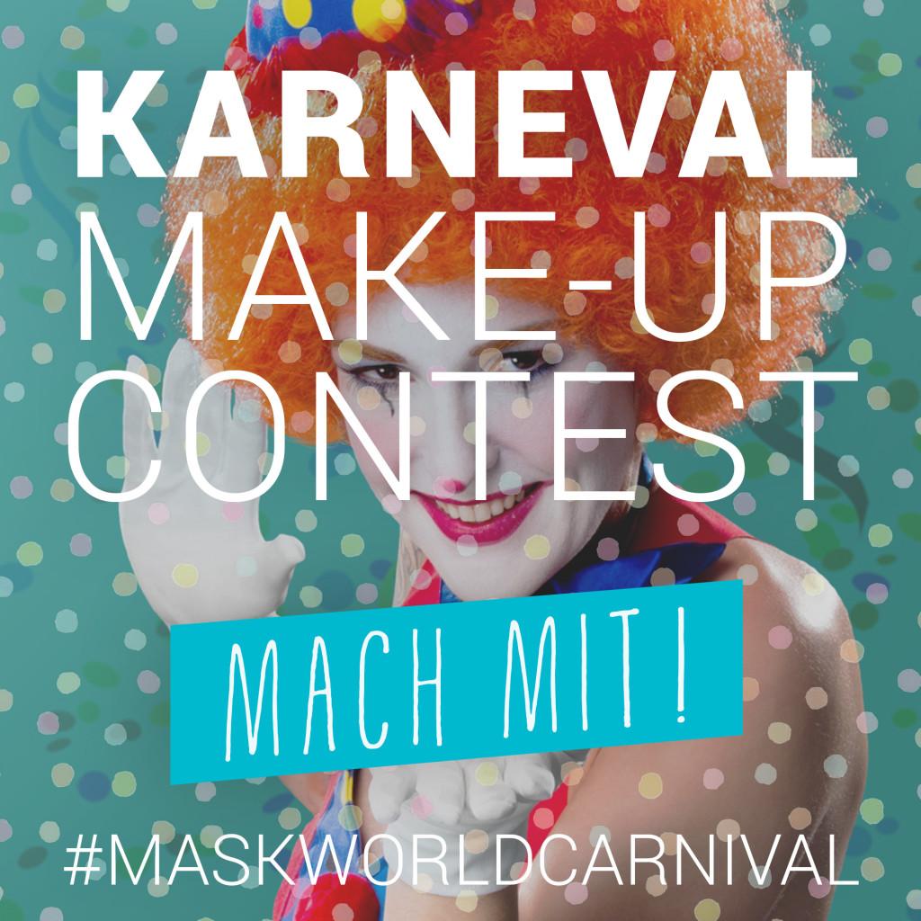 Karneval Make-up Contest - Mach mit!