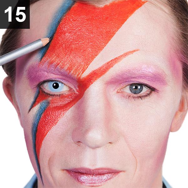 Ziggy Stardust Schminktipp David Bowie