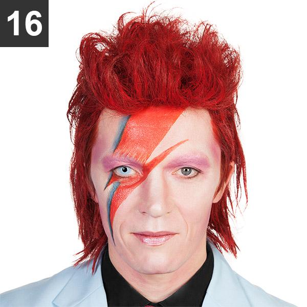 Ziggy Stardust Make-up Tutorial