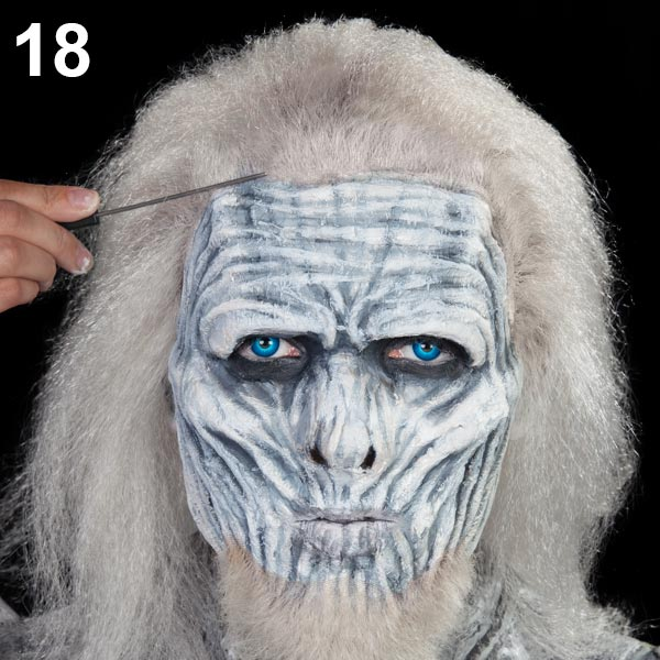 Halloween Make-up Tutorial Weißer Wanderer