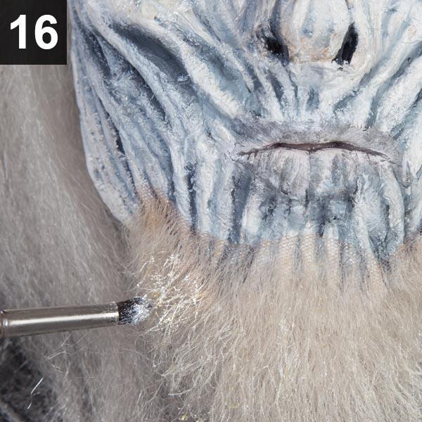 Halloween Make-up Tutorial White Walker