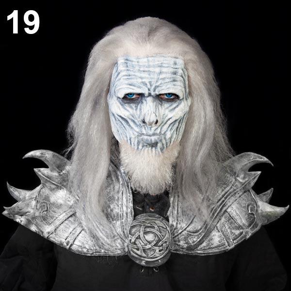 Halloween Schminktipp Weißer Wanderer
