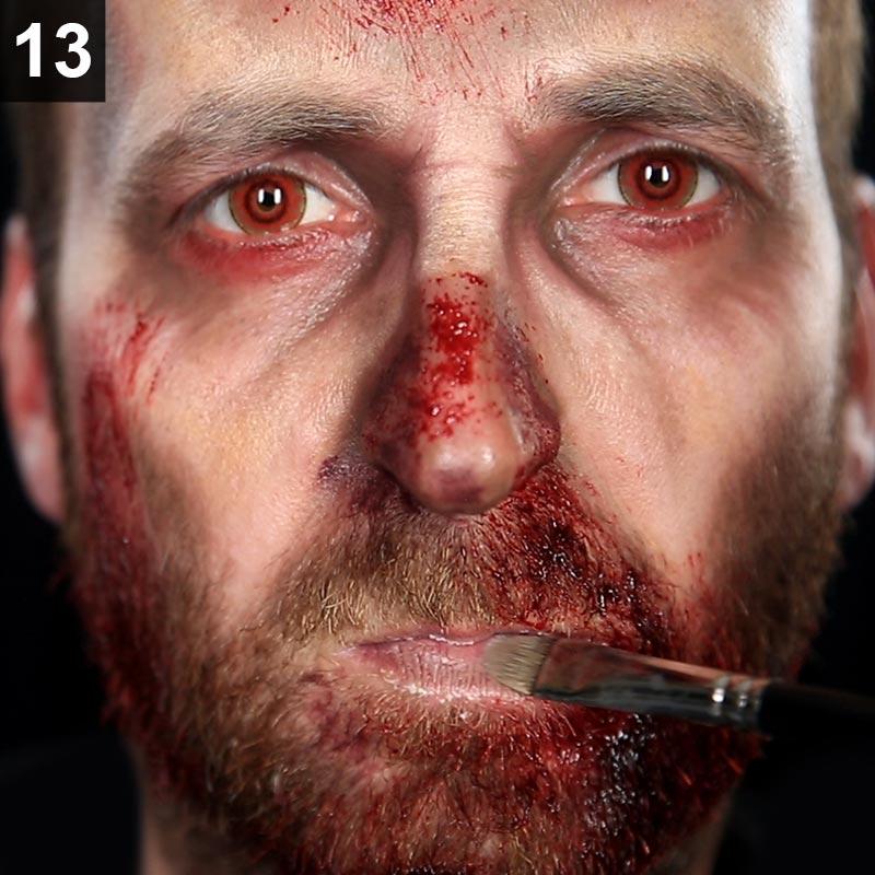 Halloween Make-up Tutorial Zombie
