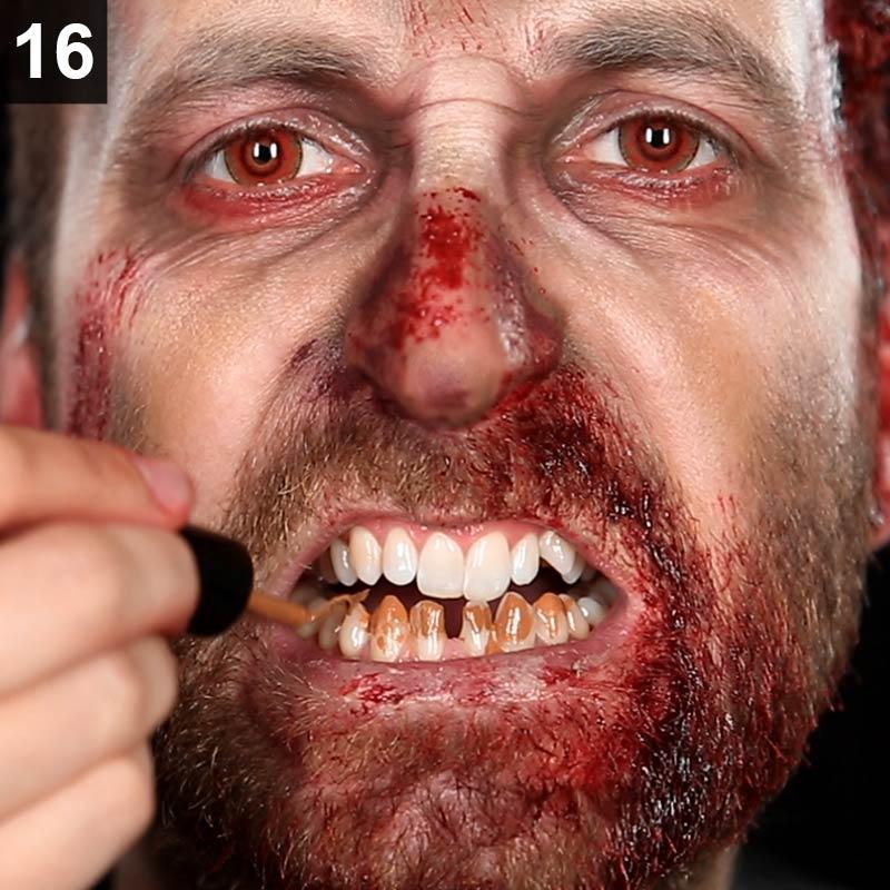 Halloween Schminkanleitung Zombie