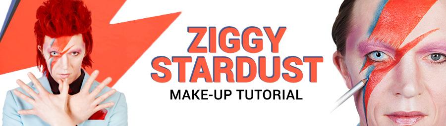 Tuesday 8 March 2016  sc 1 st  Maskworld & Ziggy Stardust Make-up Tutorial - maskworld.com