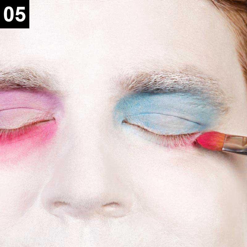 Make-up Mad Hatter Schritt 5