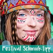 Festival Schminktipp Indianer