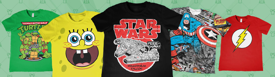 Star Wars T-Shirts, Superhelden Shirts, Gamer T-Shirts, Comic Shirts