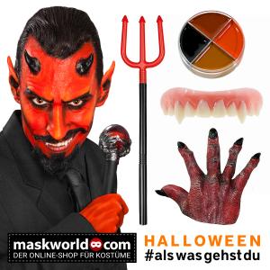Halloween Teufel Kostüm