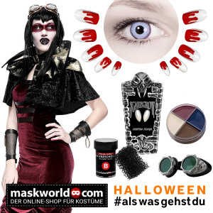 Steampunk Vampir Lady Outfit