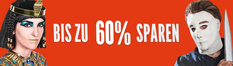 Bis zu 60% für Halloween sparen
