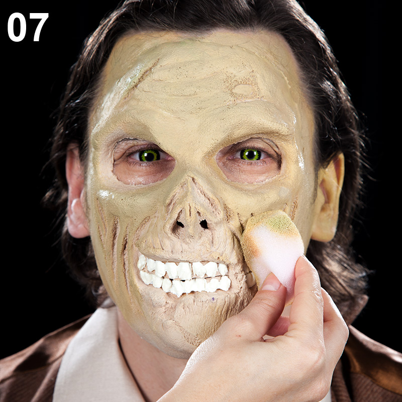 Cowboy Zombie Make-up Tutorial