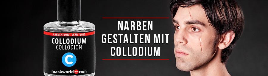 Narben Schminken Kollodium.Halloween Narbe Schminken Mit Collodium Maskworld Com Maskworld Com