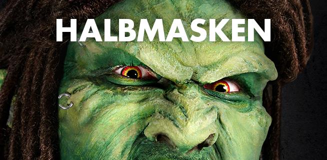 Die filmreifen Halbmasken von maskworld.com