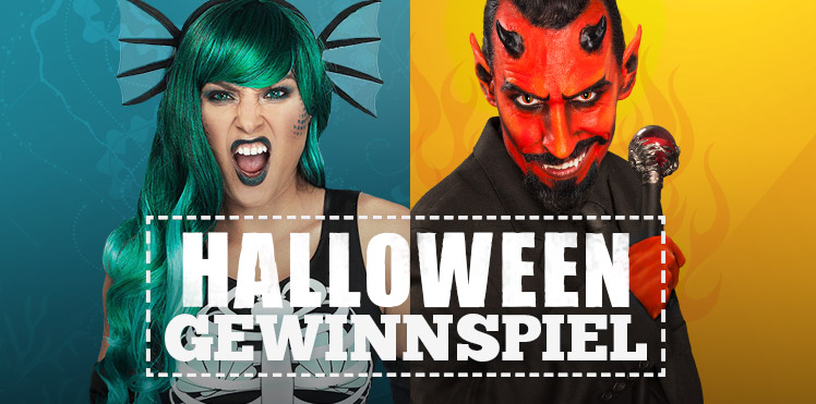 Gewinnspiel Halloween