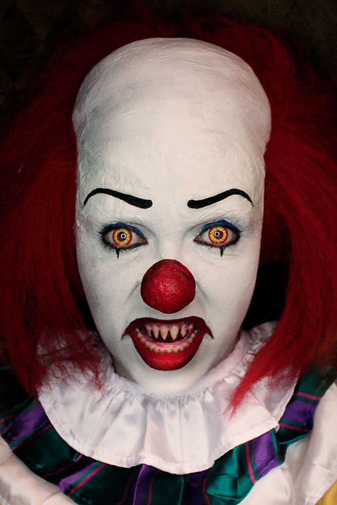 Halloween Schminktipp original Pennywise (Tim Curry)