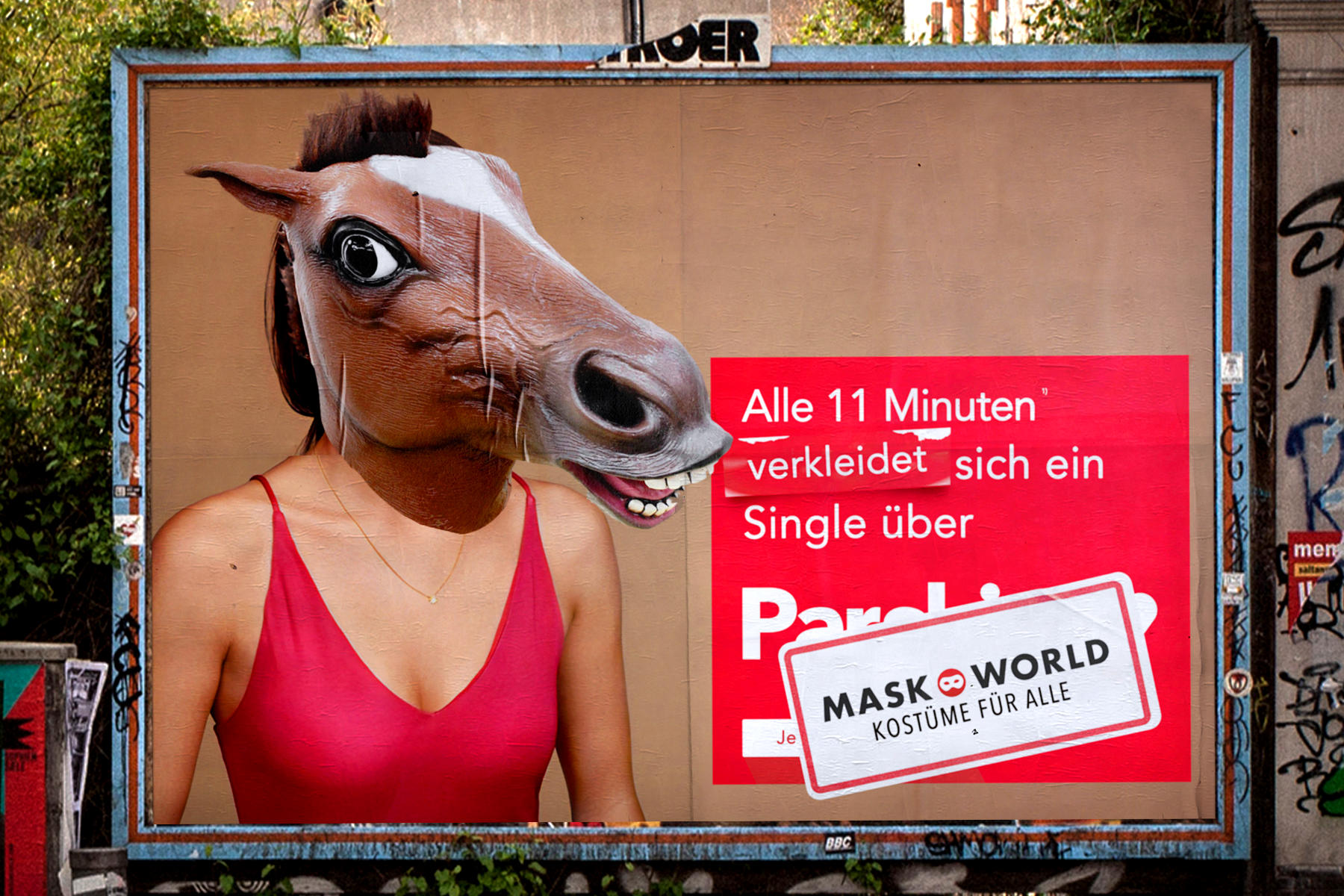 Plakataktion - 01 - MASKWORLD