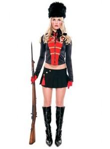 Eine eher neuzeitliche Interpretation der klassischen Regimentsuniform...