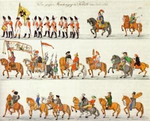 Der große Maskenzug in Köln 1825 - Jodocus Schlappal