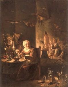Hexenszene um 1700