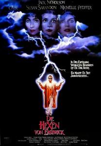 Die Hexen von Eastwick - Filmposter (c) Warner