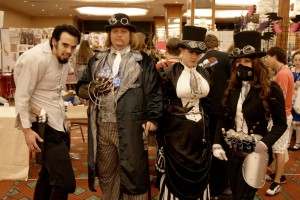 Steampunks auf der A-KON 2009 (c) steevithak @ flickr