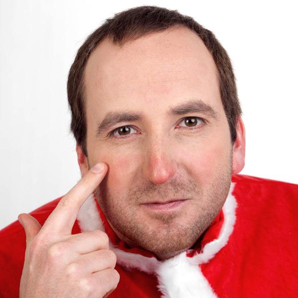 Weihnachtsmann Schminkanleitung