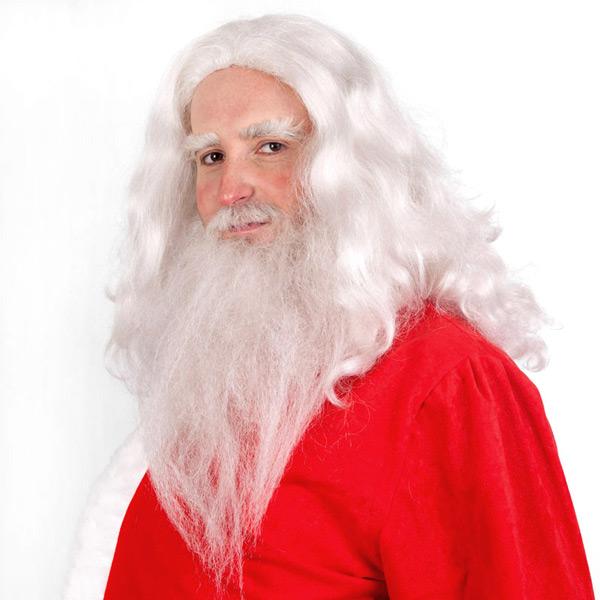 Weihnachtsmann schminken