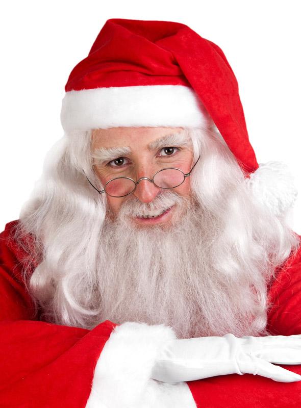 Weihnachtsmann Schminktipp