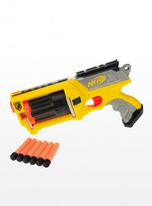 Nerf N-Strike Elite Rhino Fire Blaster-anti-aircraft-gun