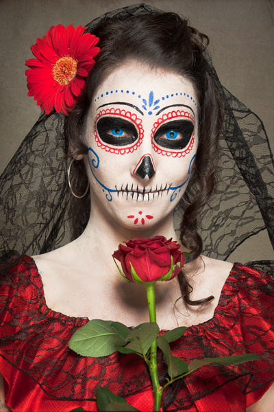 schminktipp dia de los muertos untot mit stil. Black Bedroom Furniture Sets. Home Design Ideas