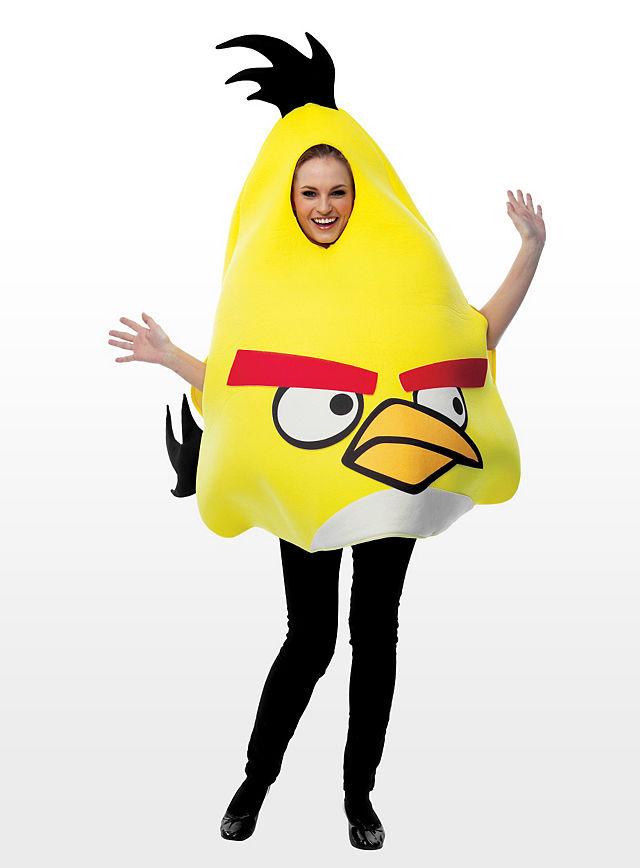 Angry Birds Costume Yellow Maskworld Com