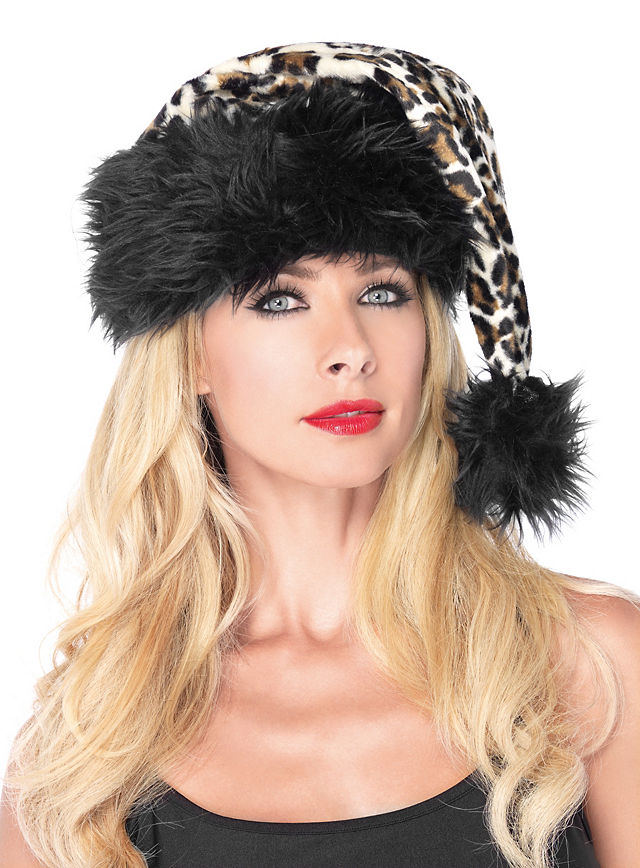 ... Costume Bad Girl Christmas Cap ...  sc 1 st  maskworld.com : cheetah costume accessories  - Germanpascual.Com