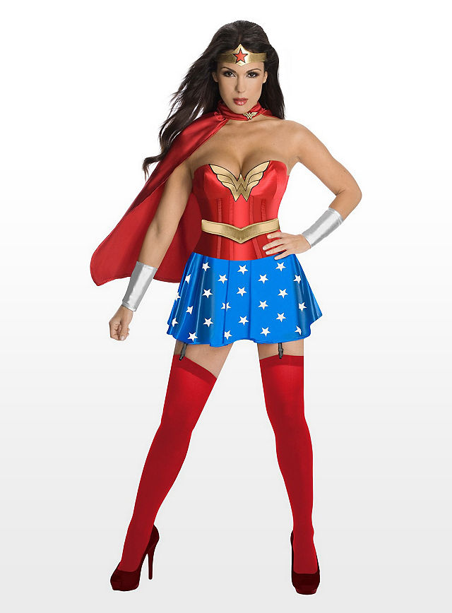 Sexy Helden Kostüme
