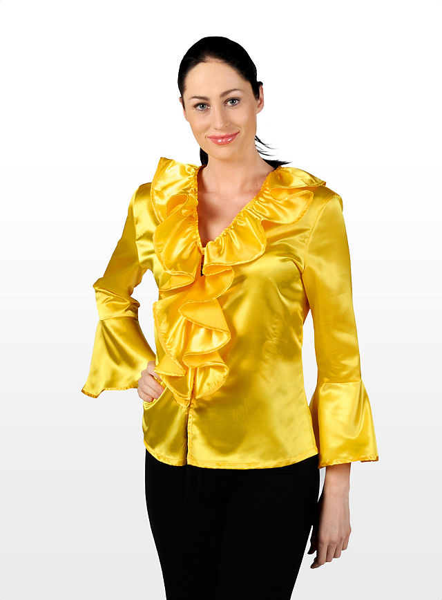 Yellow Evening Blouse 100